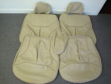MERCEDES BENZ SEAT COVERS W140 S320,S420,S500,300SE,S600 LEATHER ALL OEM COLORS