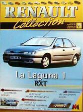 FASCICULE BOOKLET DE LA RENAULT LAGUNA 1 RXT NEUF N° 14