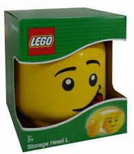 LEGO Large Storage Head Silly Face Brand NEW in Sealed Packaging