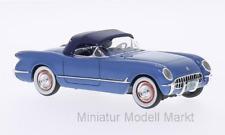 #45746 - Neo Chevrolet Corvette (C1) - metallic-blau -1953 - 1:43