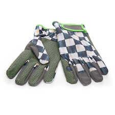 MacKenzie-Childs Courtly Check Garden Gloves - Medium