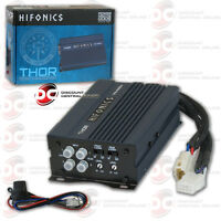BRAND NEW HIFONICS MINI COMPACT CAR MOTORCYCLE AUDIO 4-CHANNEL AMPLIFIER 350W