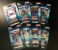 YUGIOH - TOON CHAOS - ENGLISH Blister Booster 8 Pack Lot Sealed New