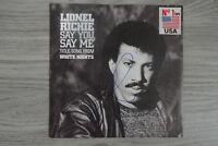 """Lionel Richie Autogramm signed 18x18 cm Single """"Say You, Say Me"""""""