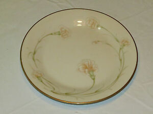 "Noritake Ivory China 7248 Weyburne Japan Salad Plate 8 1/4"" gold excellent *^"