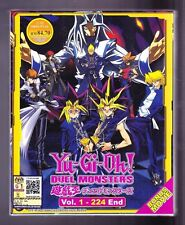 *NEW* YU GI OH! DUEL MONSTERS *224 EPISODES*ENGLISH SUBS*ANIME DVD*US SELLER*