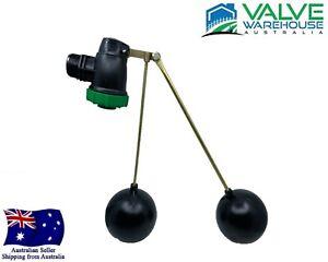 "Poly Float Valve - Dual Reservoir Valve - 32mm (11/4"") - 50mm (2"")"