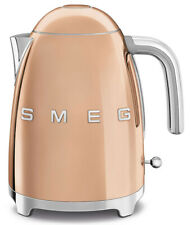 Smeg 50's Retro Style Aesthetic 1.7 L / 7Cup 1500W Electric Kettle Rose Gold New