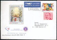 Schweiz FDC 1180/83 auf Luftpostbrief + Lot Schweizmarken Michel ca. EURO 21,00