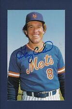 Gary Carter signed New York Mets 1985 TCMA baseball postcard