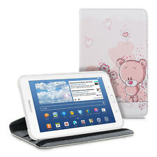kwmobile 360° Schutz Hülle für Samsung Galaxy Tab 3 7.0 Lite Kunstleder Tasche