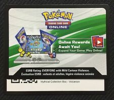 Pokemon Mythical Collection Volcanion Box TCGO Online Code - Fast