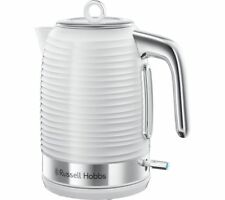 RUSSELL HOBBS Inspire Jug Kettle - White - Currys