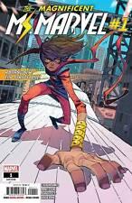 Magnificent Ms Marvel #1 Marvel Comics Ahmed Jung Herring 2019 Cover A 1St Print