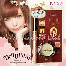 KOJI Dolly Wink Taubasa Masuwaka Liquid Eyeliner + Cream Eyeshadow LIMITED SET