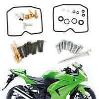 Kit de reconstrucción de carburador para Kawasaki EX250 Ninja 250R 2008-2012