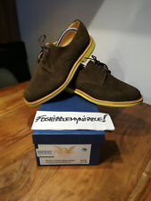 Mark McNairy New Amsterdam Brown Snuff Suede Derby Shoes HANDMADE IN ENGLAND