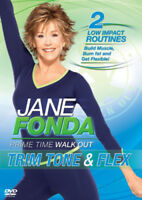 Jane Fonda: Trim, Tone and Flex DVD (2011) Jane Fonda cert E ***NEW***