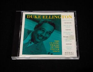 DUKE ELLINGTON - THE CLASSIC TRACKS OF THE 20'S AND 30'S | CD, COMPILATION