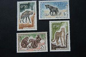 Mauretanien, Tiere (4 Marken postfrisch)