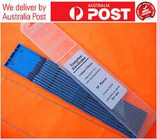 10x TIG Welding 1.6 X 150 Mm Thoriated Tungsten Electrode Red Tip Wt20