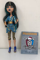 Monster High Doll Cleo De Nile Picture Day With Journal HTF