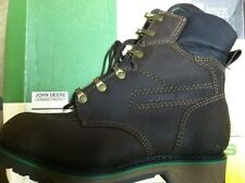 John Deer Florsheim Workgroup Boots SZ 8 50982