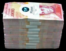 2017 Venezuela $20,000 Bolivares UNC 1 Bricks 1000 Pcs Rare Pink Color SKU51722