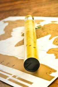 World Map Scratch Off