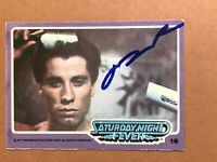 John Travolta Signed Autographed Trading Card Saturday Night Fever #19