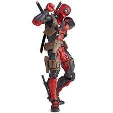 Revoltech Yamaguchi 001 Marvel Deadpool Action Figure Kaiyodo F/s