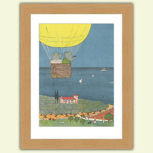 Lovely Babar the elephant A3 Satin Print poster reproduction Illustration No.2