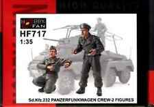 Equipage pour SdKfz 232 Panzerfunkwagen 1/35 Hobby Fan