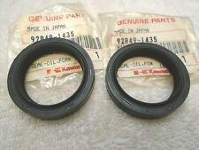 New Front Fork Oil Seal Seals Set Kawasaki ZL600 Eliminator 1986 1987 1996 1997