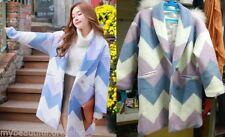 Unbranded Wool Blend Geometric Coats & Jackets for Women
