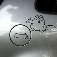 Funny Cat For Auto Car/Bumper/Window Vinyl Decal Sticker Decals DIY Decor OJ