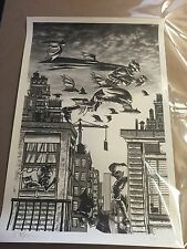 Tim Doyle Batman Poster Print Art Nakatomi Limited Edition Sold Out VARIANT Sign