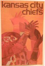 KANSAS CITY CHIEFS 1968-71 HOYLE THEME POSTER