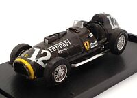 Brumm 1/43 Scale Model Car R126s - F1 Ferrari 375 1951 - #12 Black
