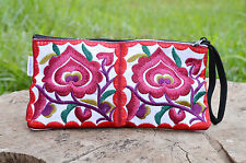 RETRO HILL TRIBE HMONG ETHNIC EMBROIDERED GYPSY HANDMADE SHOULDER BAG 013