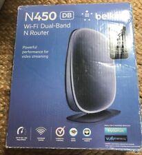 Belkin N450 DB Wi-Fi Dual-Band N Router Simultaneous Dual Band