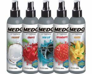 VARIOUS Medo Pump Spray Air Fresheners Odour Car Air Freshener Cherry Coconut...
