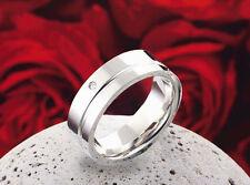 Modeschmuck-Ringe im Band-Stil aus Edelstahl