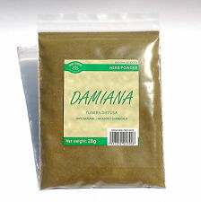 DAMIANA 56 grams Tunera diffusa wildcrafted herb powder supplement