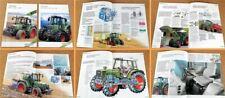 Fendt Farmer 307 308 309  311 312 / 307C 308C 309C Traktoren 1999