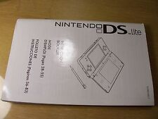 DS LITE Manual  Replacement Part Nintendo original  instructions !
