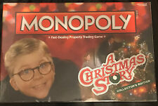 Monopoly Classic A Christmas Story Collectors Edition New Sealed Board Game