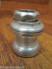 VINTAGE DURA ACE HP-7410 1 INCH THREADED HEADSET SILVER