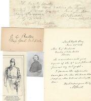 Civil War Autographs: Gettysburg, Chancellorsville, Antietam, Jackson's Campaign