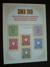Stamps - South West Africa - Scott# Non-Postal - Souvenir Sheet